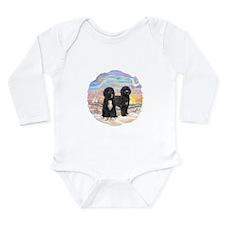 OceanSunrise-TWO PWDs Long Sleeve Infant Bodysuit