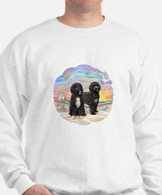 OceanSunrise-TWO PWDs Sweatshirt