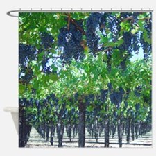 Grape Arbor Shower Curtain