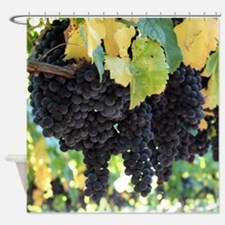 Oversized Lush Grapes Shower Curtain