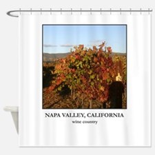 Vineyard Post 24 - Wine Country Shower Curtain