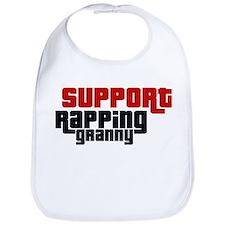 Support Rapping Granny Bib