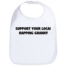 Support Local Rapping Bib