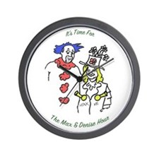 Max and Denise Clock