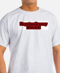 Rapping Rocks Ash Grey T-Shirt