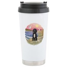 PinkSunset - PWD-5bw Travel Mug