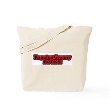Rapping Rocks Tote Bag