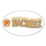 Nacheez Sticker (Oval)