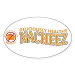 Nacheez Sticker (Oval 10 pk)