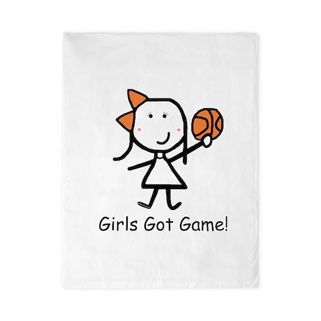 Girls Got Game Twin Duvet