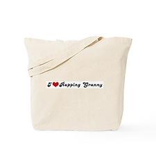 I Love Rapping Granny Tote Bag