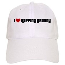I Love Rapping Granny II Baseball Cap