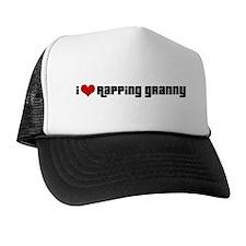 I Love Rapping Granny II Trucker Hat