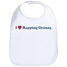 I Love Rapping Granny III Bib