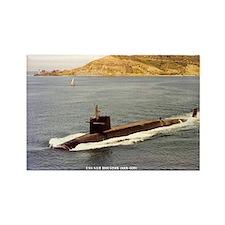 USS SAM HOUSTON Rectangle Magnet