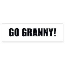 Go Granny II Bumper Bumper Sticker