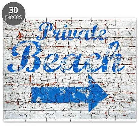 Private Beach Puzzle