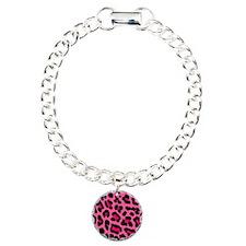 HOT PINK LEOPARD Bracelet
