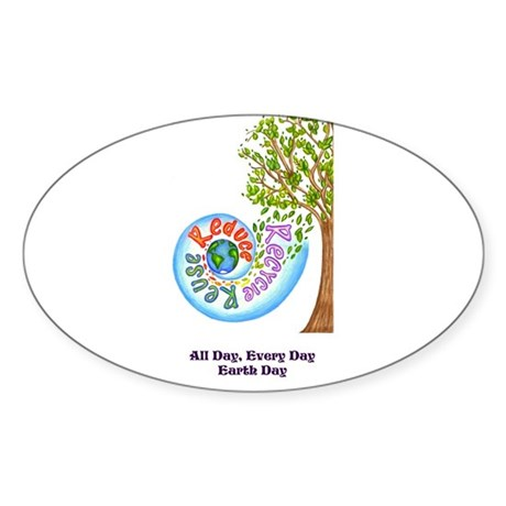everyday earth day sticker