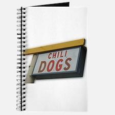 Cute Chili dog Journal