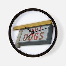 Unique Chili dog Wall Clock