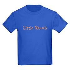 Little Mensch Blue Kids Tee