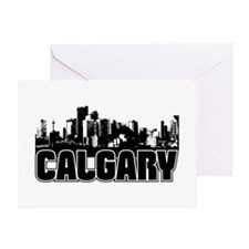 Calgary Skyline Greeting Card