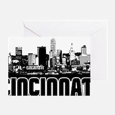 Cincinnati Skyline Greeting Card
