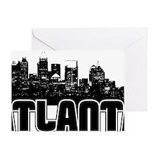 Atlanta Skyline Greeting Card