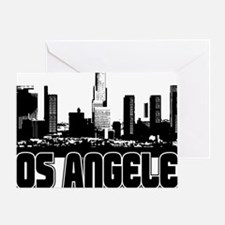 Los Angeles Skyline Greeting Card