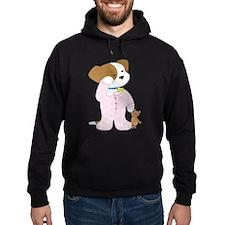 Cute Puppy Pajamas Hoodie