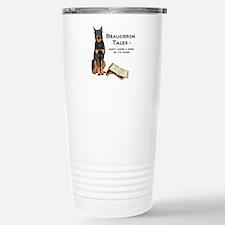 Beauceron Tales Stainless Steel Travel Mug
