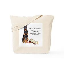 Beauceron Tales Tote Bag