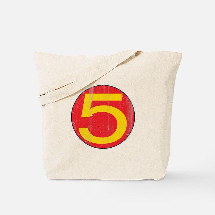 Vintage Mach 5 Tote Bag