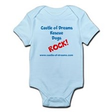 Rescue Dogs ROCK! Infant Bodysuit