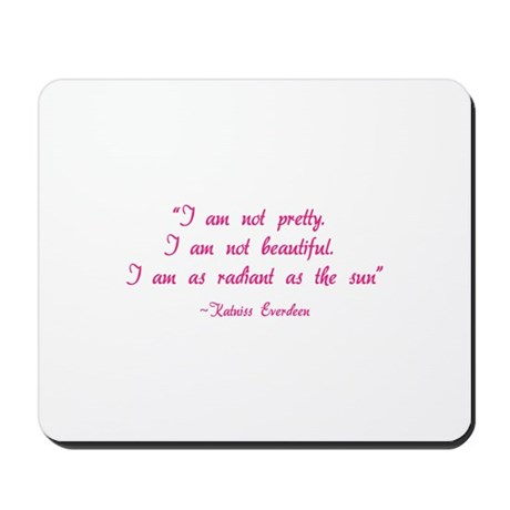 HG I am not pretty... Mousepad