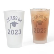 Class Of 2023 Graduation Drinking Glass