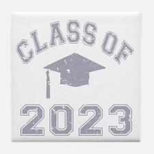 Class Of 2023 Graduation Tile Coaster
