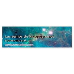 "Pleiadian Renegades ""Souvenance"" bumper"