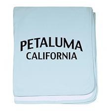 Petaluma California baby blanket