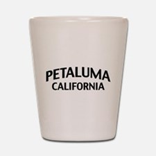 Petaluma California Shot Glass