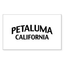 Petaluma California Decal