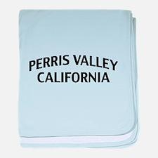 Perris Valley California baby blanket