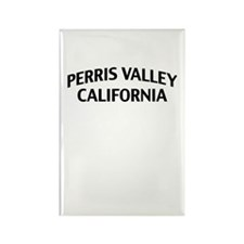 Perris Valley California Rectangle Magnet