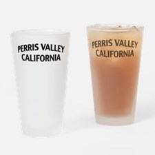 Perris Valley California Drinking Glass