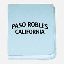 Paso Robles California baby blanket