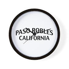 Paso Robles California Wall Clock