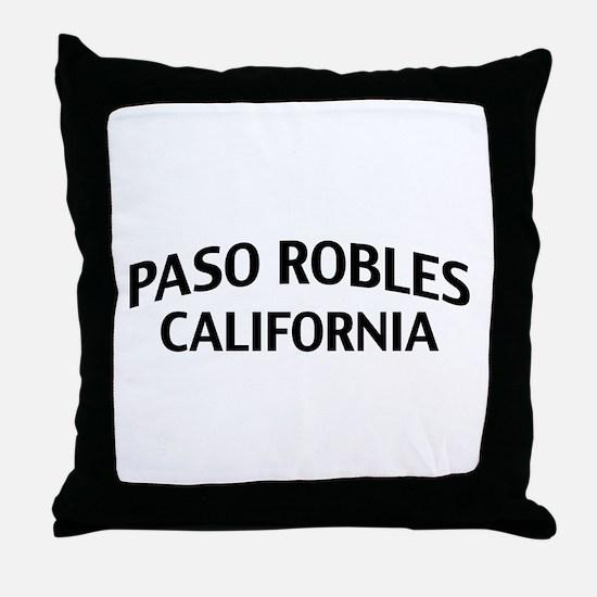 Paso Robles California Throw Pillow