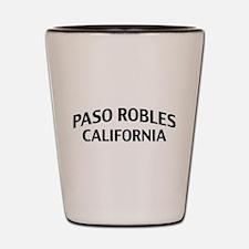 Paso Robles California Shot Glass