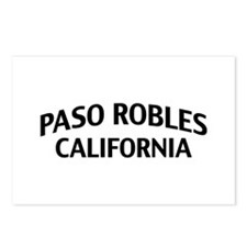 Paso Robles California Postcards (Package of 8)